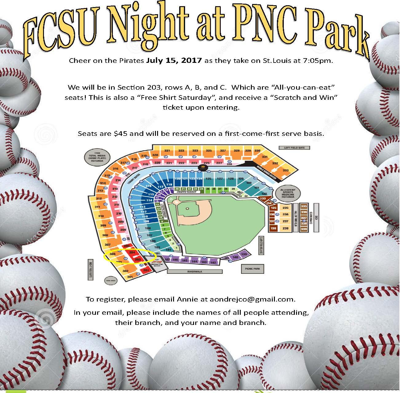 FCSU Night at PNC
